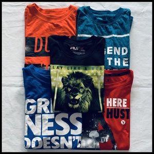 XERSION Big Boys Shirt Bundle of 4 + FREEBIE XL